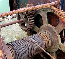 Old Winding Gear by hootonles