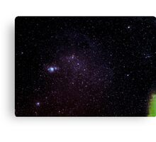 Orion, The Hunter Canvas Print