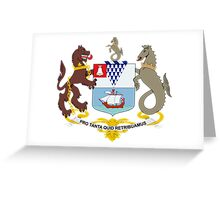 Coat of Arms of Belfast  Greeting Card