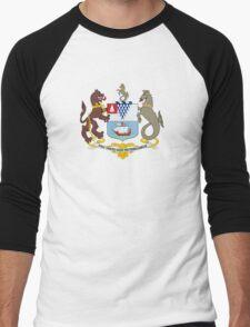Coat of Arms of Belfast  Men's Baseball ¾ T-Shirt