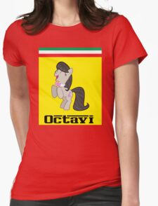 A Spin-Off By Me (Octavia Likes Ferrari) Womens Fitted T-Shirt