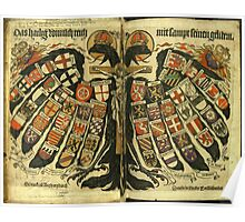 Coat of Arms of the Holy Roman Empire Poster