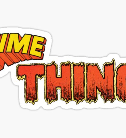 Time Thing Sticker