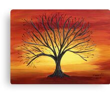 Fiery Sky Canvas Print