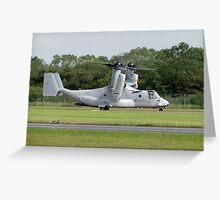 USMC MV-22B Osprey Greeting Card