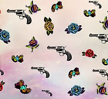 guns and roses  by motiashkar