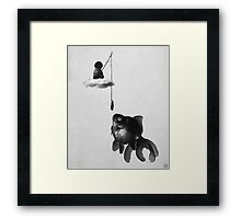 wrong bait Framed Print