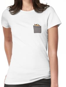 pbbth Pocket Companion Womens Fitted T-Shirt