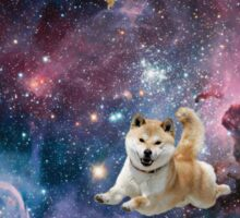 Galaxy Dogs Sticker