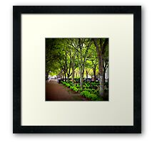 Waterfront Park (square) Framed Print