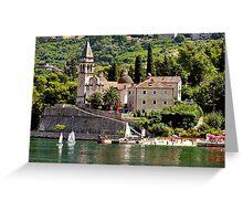 Kotor, Montenegro Greeting Card