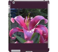 Glorious Pink Lily! iPad Case/Skin