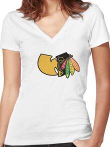 Chicago Wuhawks Women's Fitted V-Neck T-Shirt