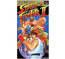 Street Fighter II  Photographic Print
