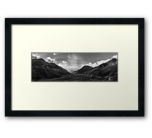 Tip of the Andes, Aconcagua Framed Print
