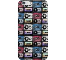 Watercolor cassette pattern iPhone Case/Skin