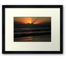 Good Friday Dawn Framed Print