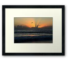 Early Morning Flight Framed Print
