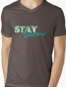 Stay Schemin Mens V-Neck T-Shirt