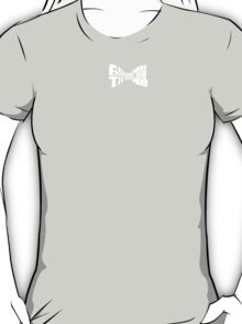 Doctor Who: bow tie (white) T-Shirt