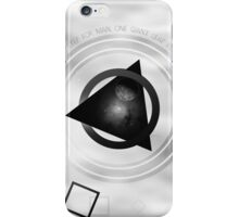 Point To The Moon iPhone Case/Skin