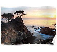 First Sunset: Monterey County, CA., January, 2014 Poster