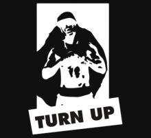 Turn up - Black by shanin666