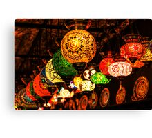Decoration Lamps Canvas Print