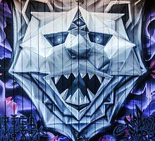 Polar Bear Graffiti by MMPhotographyUK