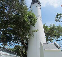 Key West Lighthouse  by GleaPhotography