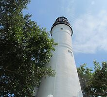The key west lighthouse 2 by GleaPhotography