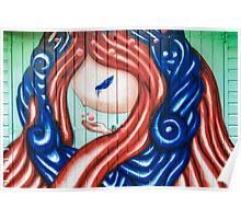 Fairy Graffiti Poster