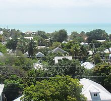 Key West view on top of key west lighthouse by GleaPhotography