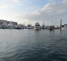 Key west Boats 3 by GleaPhotography