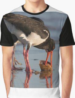 Sunset Food Scuffle Graphic T-Shirt