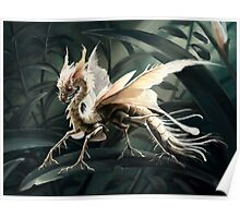 Insect dragon Poster