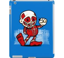 Vintage Titan iPad Case/Skin
