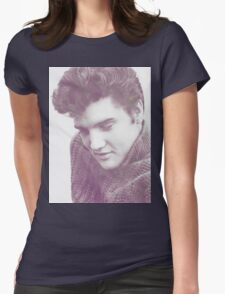 Elvis  Womens Fitted T-Shirt