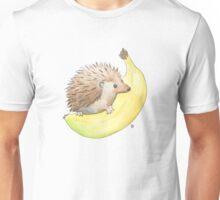Hedgehog & Banana Unisex T-Shirt