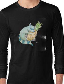 Raccoon & Pineapple Long Sleeve T-Shirt