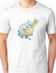 Raccoon & Pineapple Unisex T-Shirt