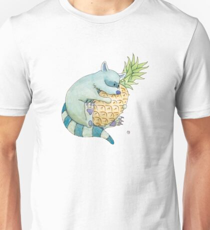 Raccoon & Pineapple Unisex T-Shirt