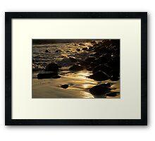 The Golden Glow Of Sunrise Framed Print