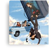 Doctor Who meets Harry Potter Metal Print