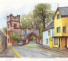 Ruthin Castle Gate, Wales by Dai Wynn