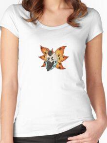 Pokemon Doodles - Volcarona Women's Fitted Scoop T-Shirt