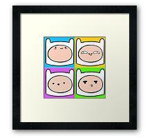 Finn's Emotions Framed Print