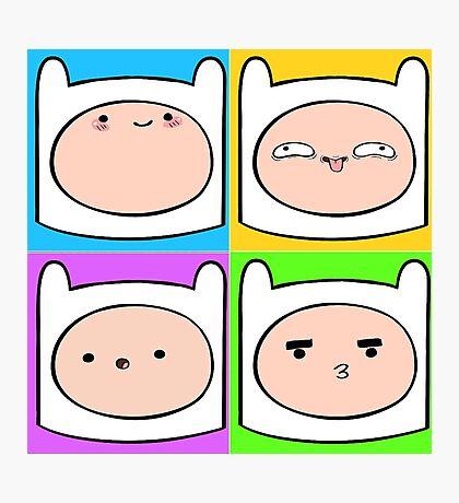 Finn's Emotions Photographic Print