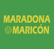 Maradona Maricon by Paducah