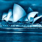Opera House at night  by Beth  Morley